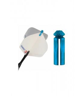 Protector Plumas Target Azul