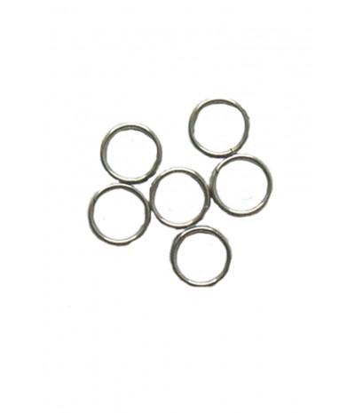 O Rings Natural Steel
