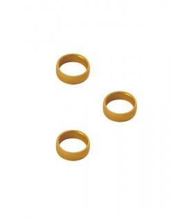 Slot Lock Ring Target Gold