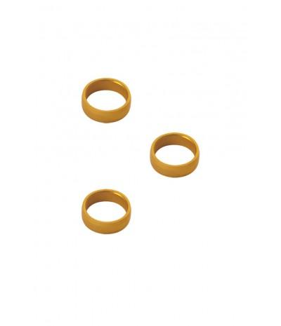Lock Rings 3 Rings Grip Rings for Darts 1 Set Target Coloured Slot Rings