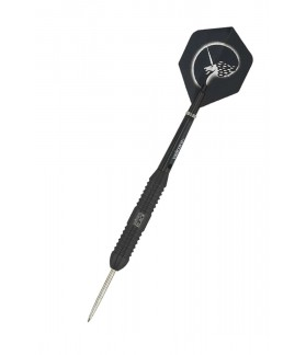 Unicorn Core Plus Black Steel Tip Darts 22gr