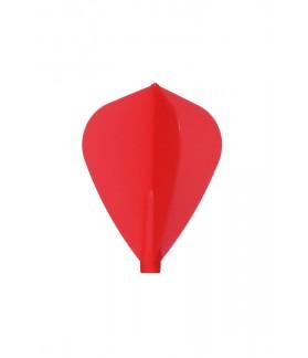 Plumas Fit Flight Kite Rojo 6 uds