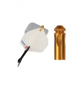 Protector de Plumas Target Aluminio Dorado