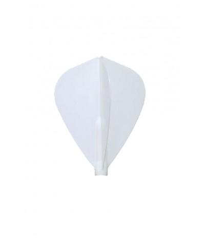 Plumas Fit Flight Kite Blanco 3 uds