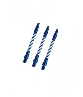Cañas Aluminio Regrooved Medianas Azul/Blanco