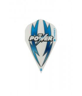 Plumas Target Power Arc Bolt Vapor Blanco/Azul