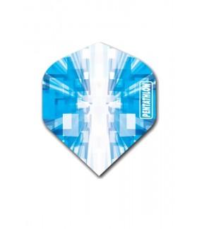 Plumas Pentathlon Vizion Star Burst Azul