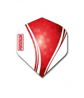 Pentathlon Vizion Swirl Flights Red