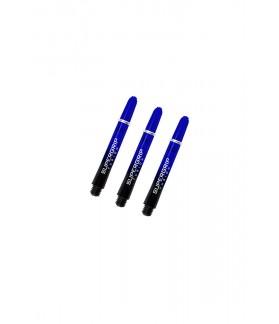 Cañas Harrows Supergrip Fusion Cortas Negro/Azul