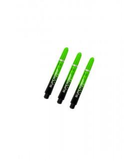 Cañas Harrows Supergrip Fusion Cortas Negro/Verde