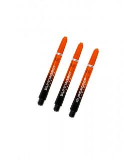 Cañas Harrows Supergrip Fusion Medianas Negro/Naranja