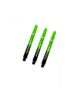 Cañas Harrows Supergrip Fusion Midi Negro/Verde