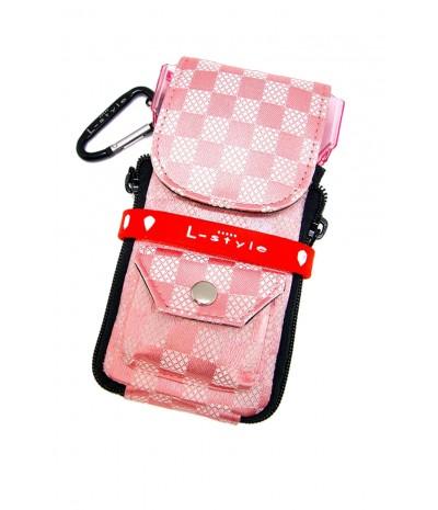 Krystal Colors Check Pink
