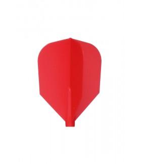 Plumas Fit Flight Shape Rojo 6 uds