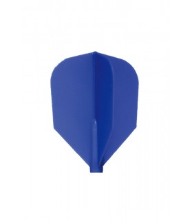 Plumas Fit Flight Shape D-Azul 6 uds