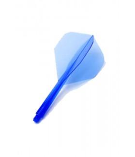 Plumas Condor Shape Clear Blue M