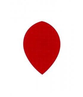 Plumas Nylon Oval Rojo