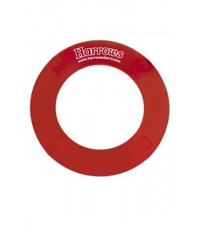 4 Piece dartboard surround Red
