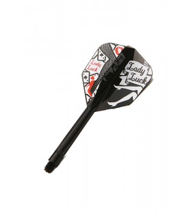 Condor Shape Lady Luck Black Flights S