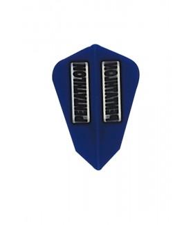 Plumas Pentathlon Fantail Azul