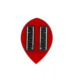 Plumas Pentathlon Oval Rojo