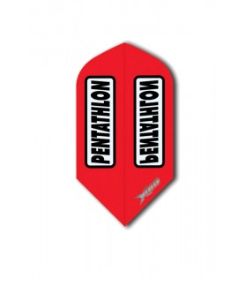 Plumas Pentathlon Xtream 180 Slim Rojo