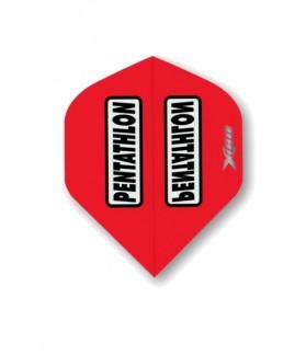 Plumas Pentathlon Xtream 180 Standard Rojo