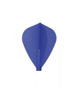 Plumas Fit Flight Kite D-Azul 6 uds
