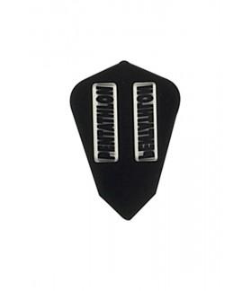 Plumas Pentathlon Fantail Negro