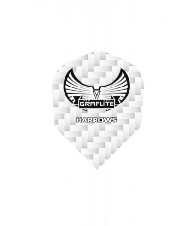 Harrows Graflite Standard Flights White