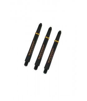 Harrows Supergrip Carbon Midi Gold Shafts