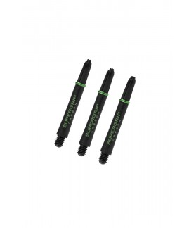 Harrows Supergrip Carbon Midi Green Shafts