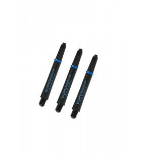 Harrows Supergrip Carbon Midi Aqua Shafts
