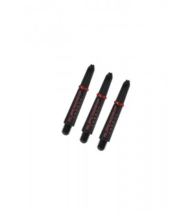 Harrows Supergrip Carbon Short Red Shafts
