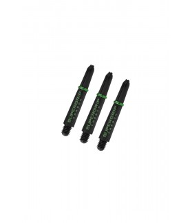 Harrows Supergrip Carbon Short Green Shafts