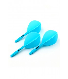 Cuesoul AK5 Oval Blue Flights M