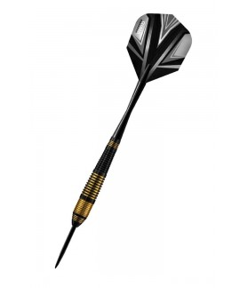 Harrows Vivid Black Steel Tip Darts 21grR