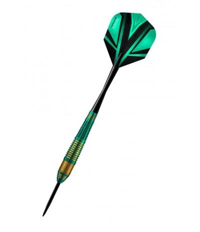 Harrows Vivid Green Steel Tip Darts 22grR