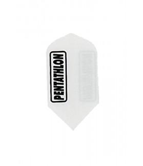 Plumas Pentathlon Slim Embossed Blanco