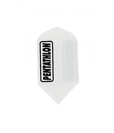 Pentathlon Slim Embossed Flights White