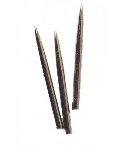 Darts Point Steel Tip Silver 31mm