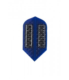 Plumas Pentathlon Slim Embossed Azul