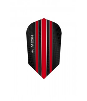Mission Mesh Slim Flights Red