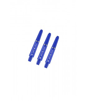 Mission GripLock Shafts Blue 34mm