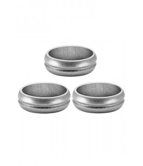 Mission F-Lock Rings Silver