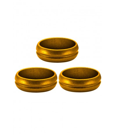 Mission F-Lock Rings Gold