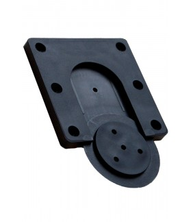 Bull's Rotate Fixing Bracket Black