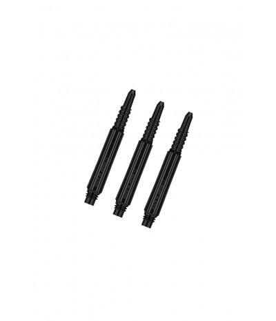 8 Flight Regular Fixed Black 22,5mm Shafts