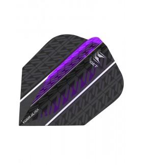 Target Vision Ultra Vapor 8 Black Purple N6 Flights