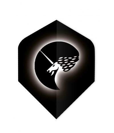 Unicorn Core 75 Standard Flights Logo White